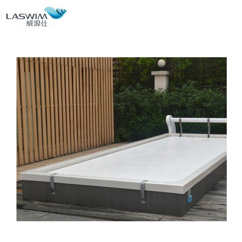 polycarbonate slats removable automatic swimming pool cover goods from china