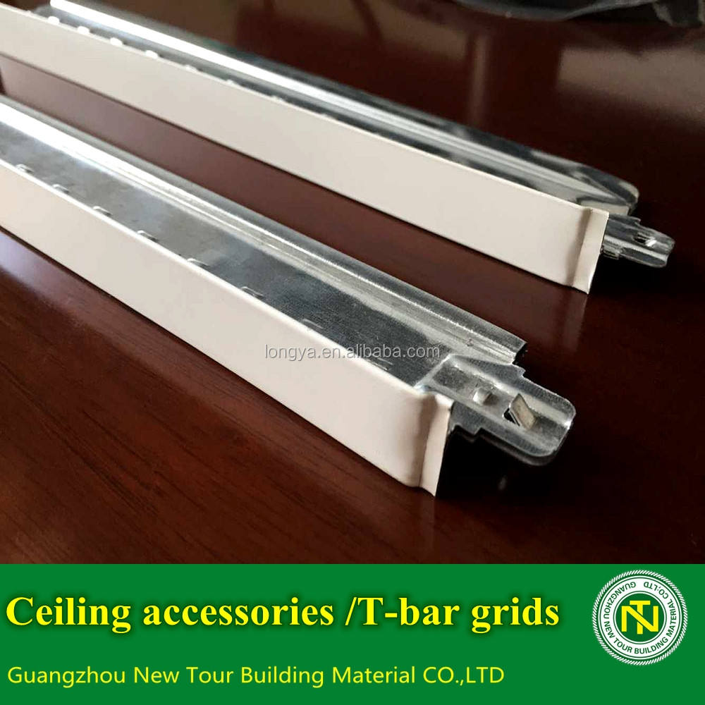 Easy installlation gypsum ceiling accessories /ceiling T-bar grids