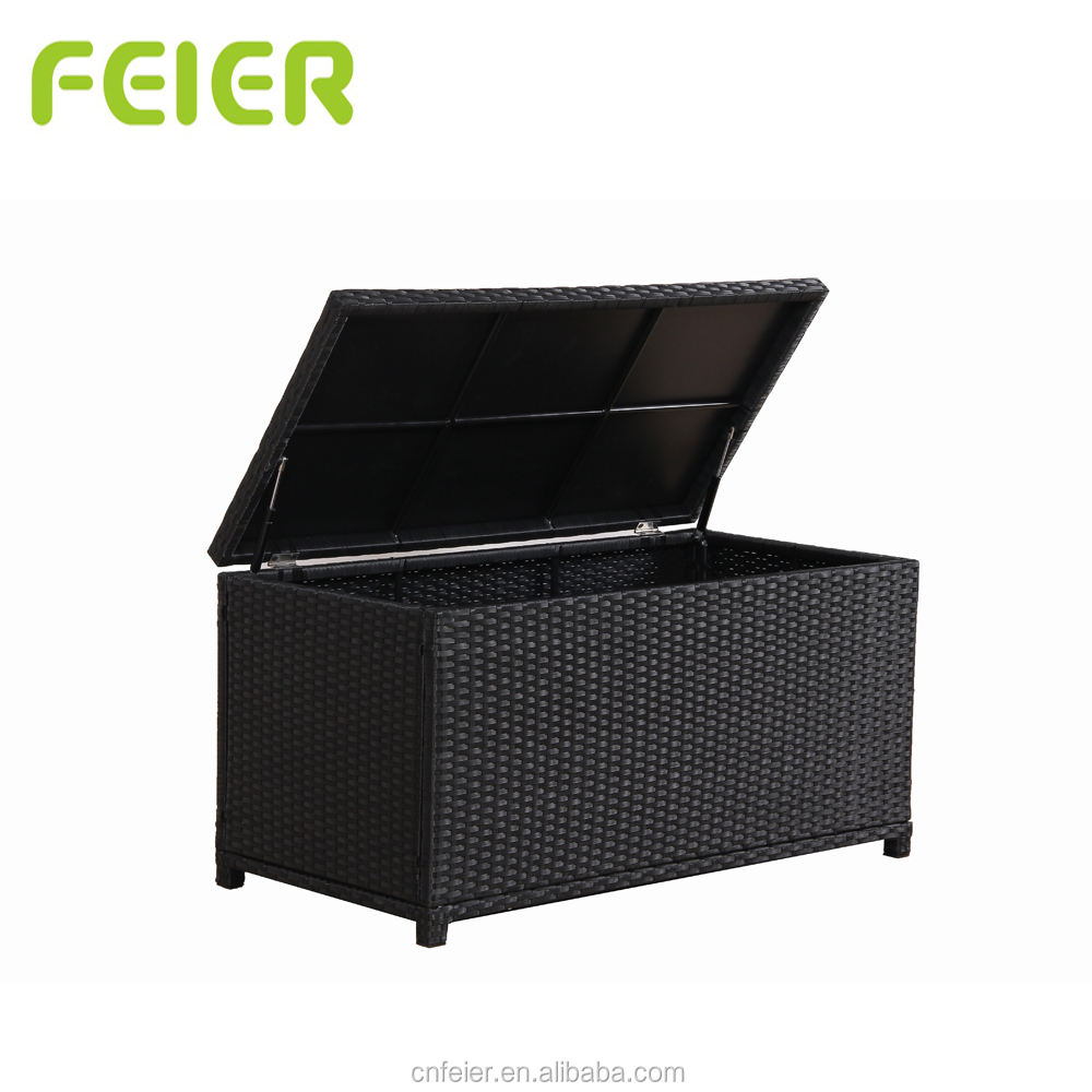 A6008CBX Outdoor Rattan Furniture with Storage Function