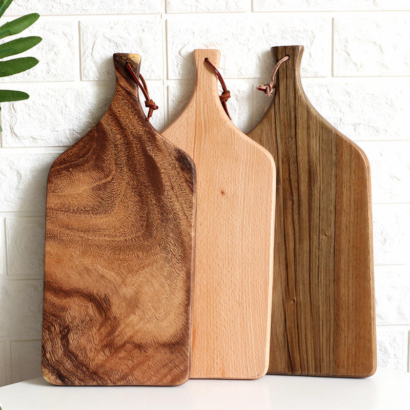 Hangzhou Wholesale function Custom logo wooden beech walnut cutting chopping board