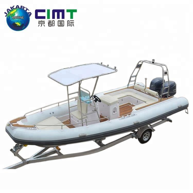 7,6 M costilla barco Crusing mejor inflable rígido <span class=keywords><strong>yate</strong></span> para venta