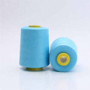 100 spun polyester sewing thread 8000yds 402 embroidery thread