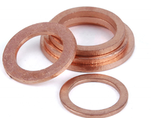M14-20-1.5 copper washer for banjo bolt