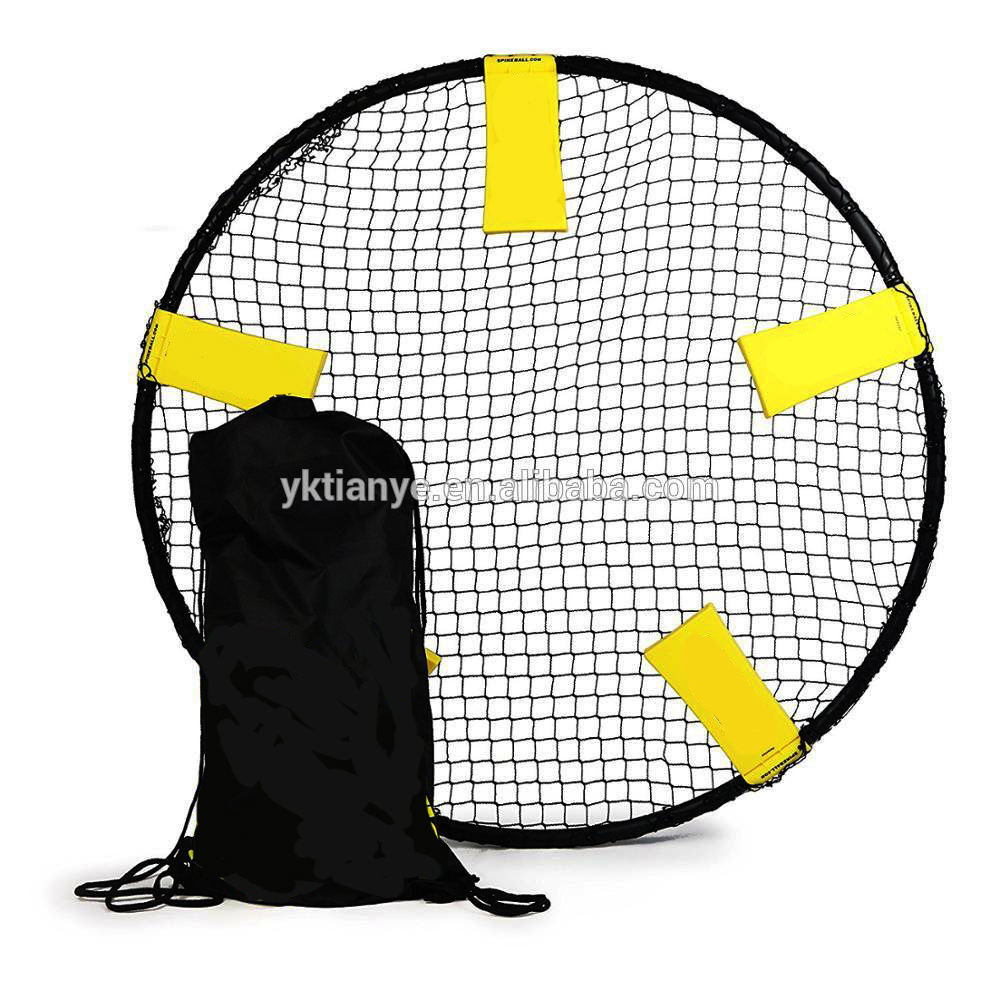 Outdoor playgame entertainment populaire Striker Strand Volleybal Spike Spel Bal Net spikeball set