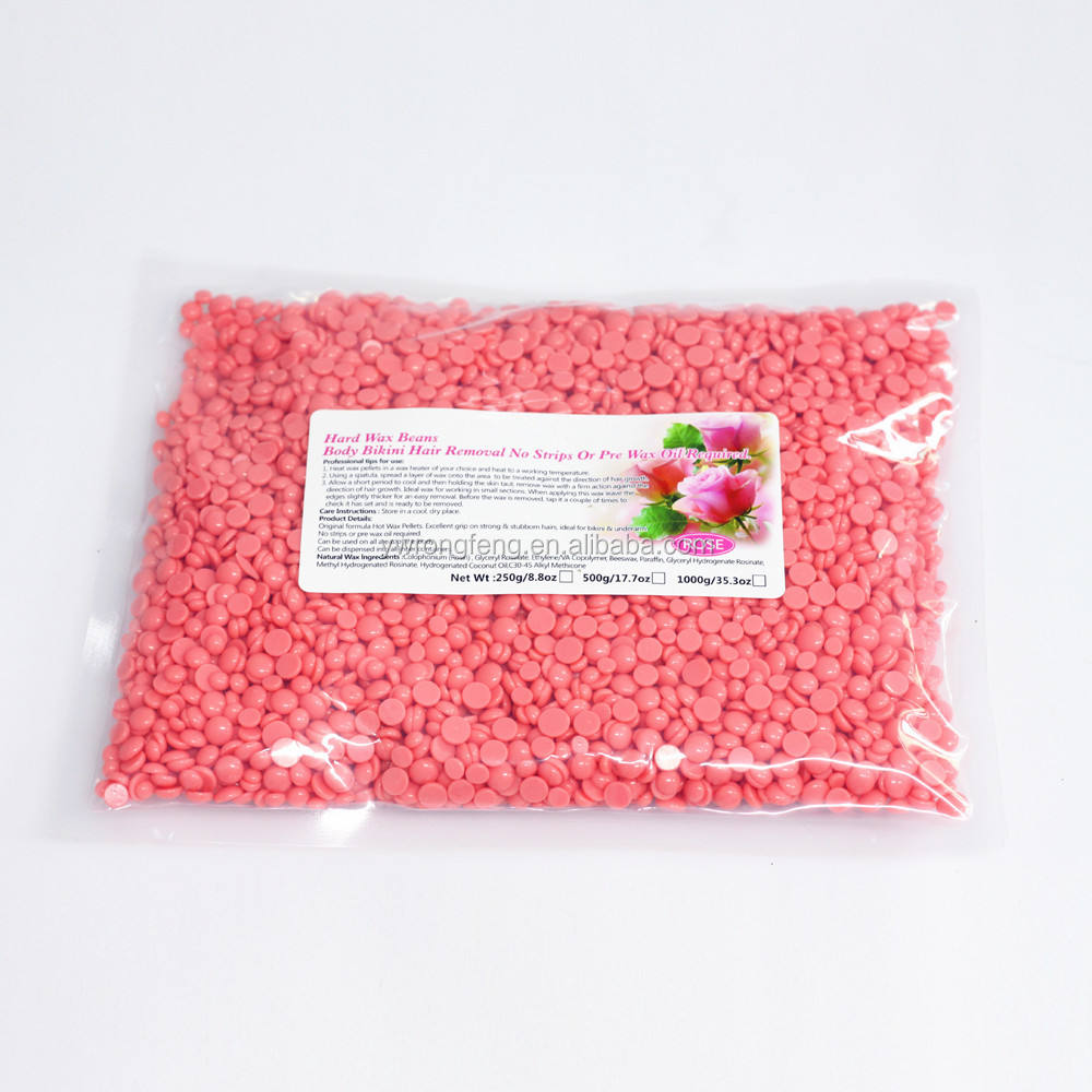 Chamomile Flavor Hair Removal Hard Wax beans for Hair Removal Drop 1000g Depilatory Body Hair Epilation Removal Solid Wax Beans