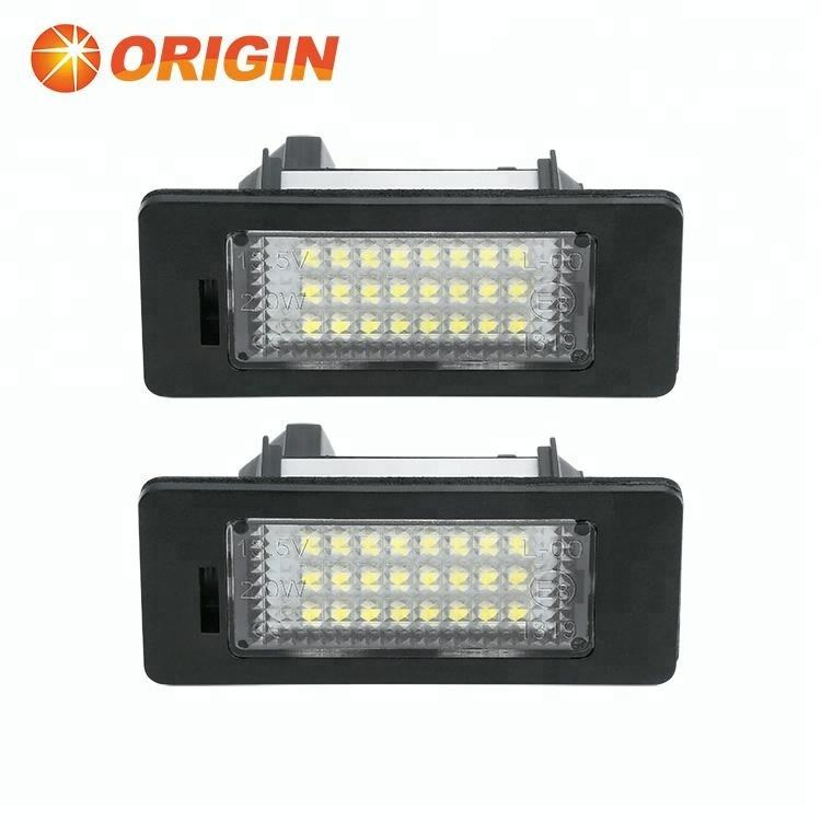 2x Toyota Prius NHW20 Bright Xenon White 3SMD LED Canbus Number Plate Bulbs