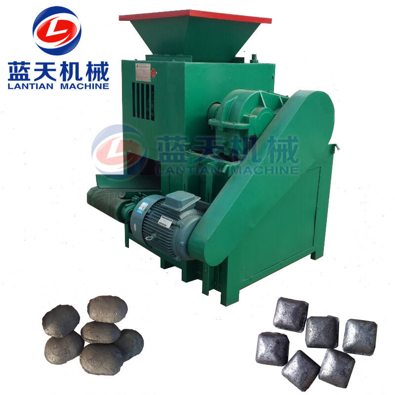 Hot sale coke/charcoal/carbon black powder briquetting press machine coal briquette roller press machine