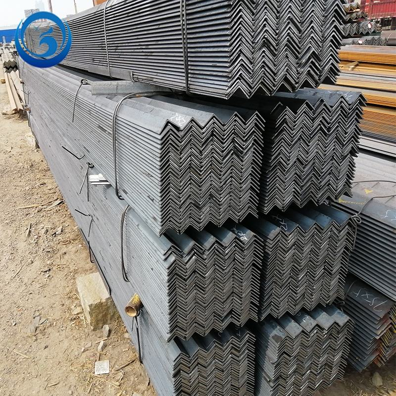 cheap price galvanised steel angle iron, low carbon v shaped iron angle steel bar