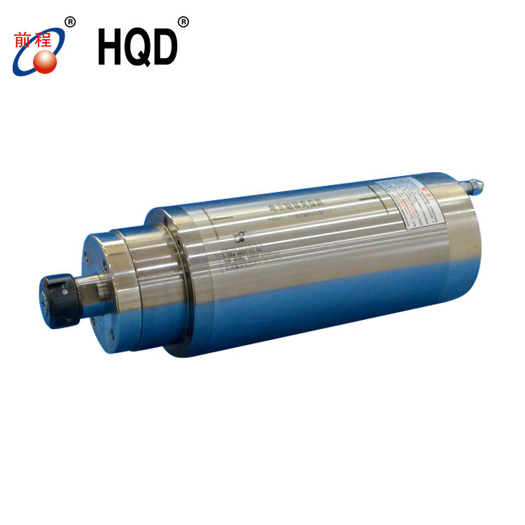 GDK125-18-24Z/5.5 5.5kw water cooling spindle motor for CNC machine stone and metal cutting