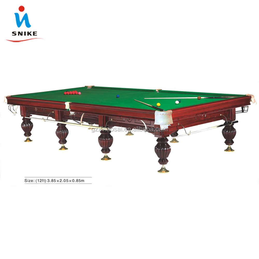 russian pyramid billiard table and 12ft snooker table