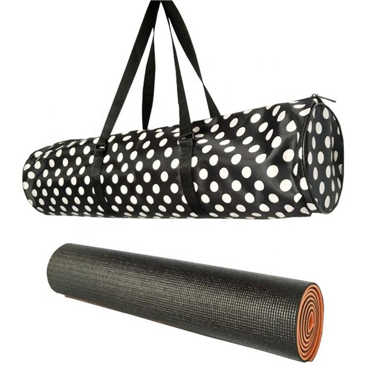 173*61cm 6mm best gymnastics yoga mat holder carry bag custom yoga mat with bag