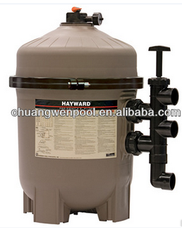 High quality Diatomaceous earth swimming pool sand filter