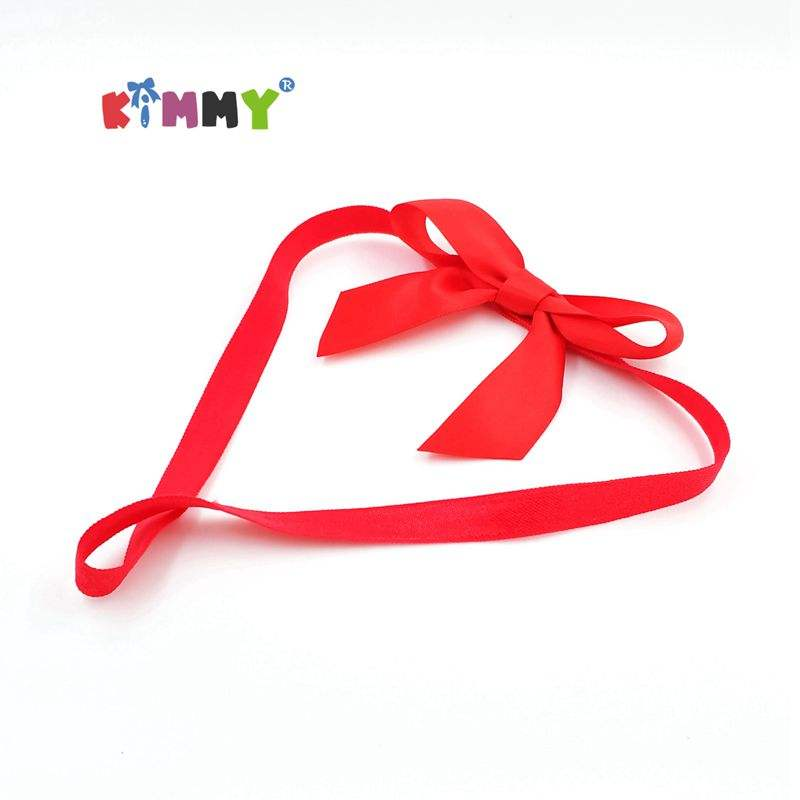 Red Elastic Gift Package Ribbon Bows - Buy Gift Package Bow