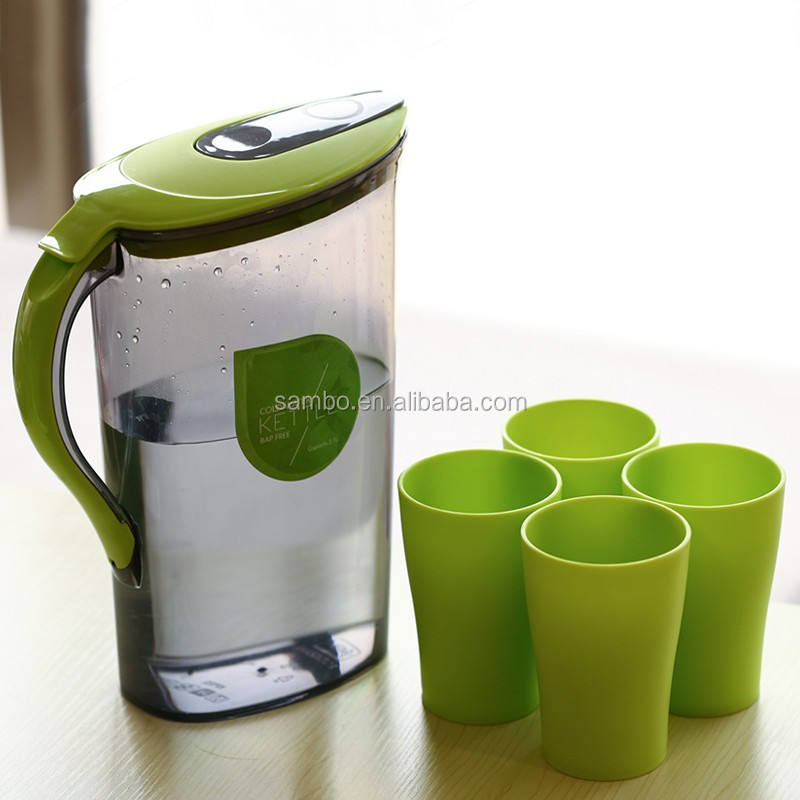 Best Selling Products Plastic Cool Water Jug 2.1L