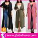 Wholesale plus size ladies long coat boutique trendy tall women apparel clothing