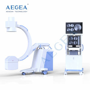 AG-D112B Flexible digital radiography auto fluoroscopy patient examination image system c arm x ray machine