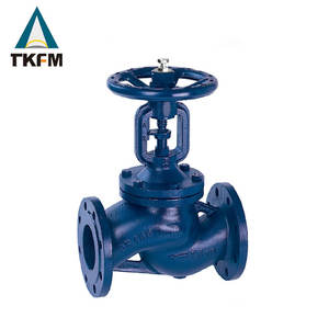 DIN standard cryogenic casting 10'' vacuum plug disc a105 13cr bellows globe valve price