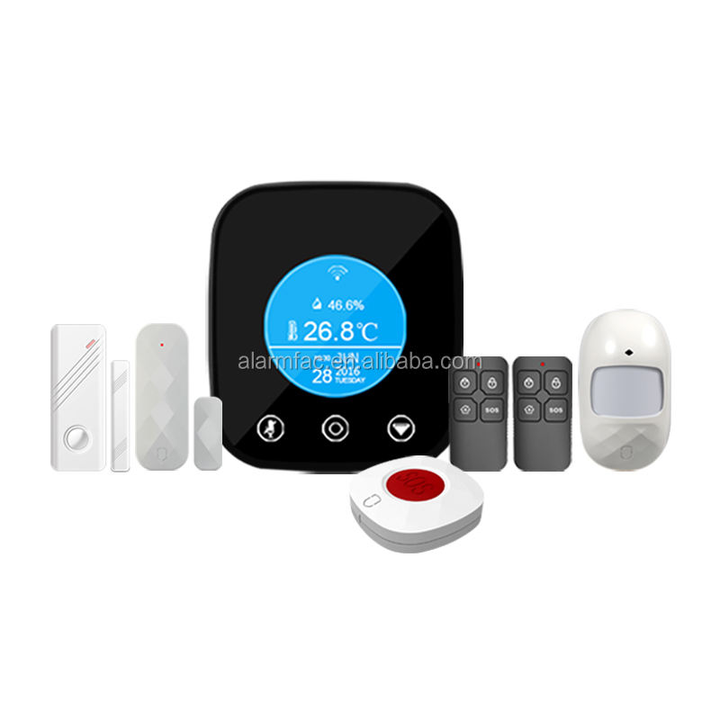 3G 4G wifi zigbee z-wave outdoor gateway/domotica Smart hub Alarm, Intelligente APP gsm alarm, met contact ID