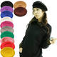 High Quality 100% Wool Fashion Custom French Beret For Ladies Free Sample