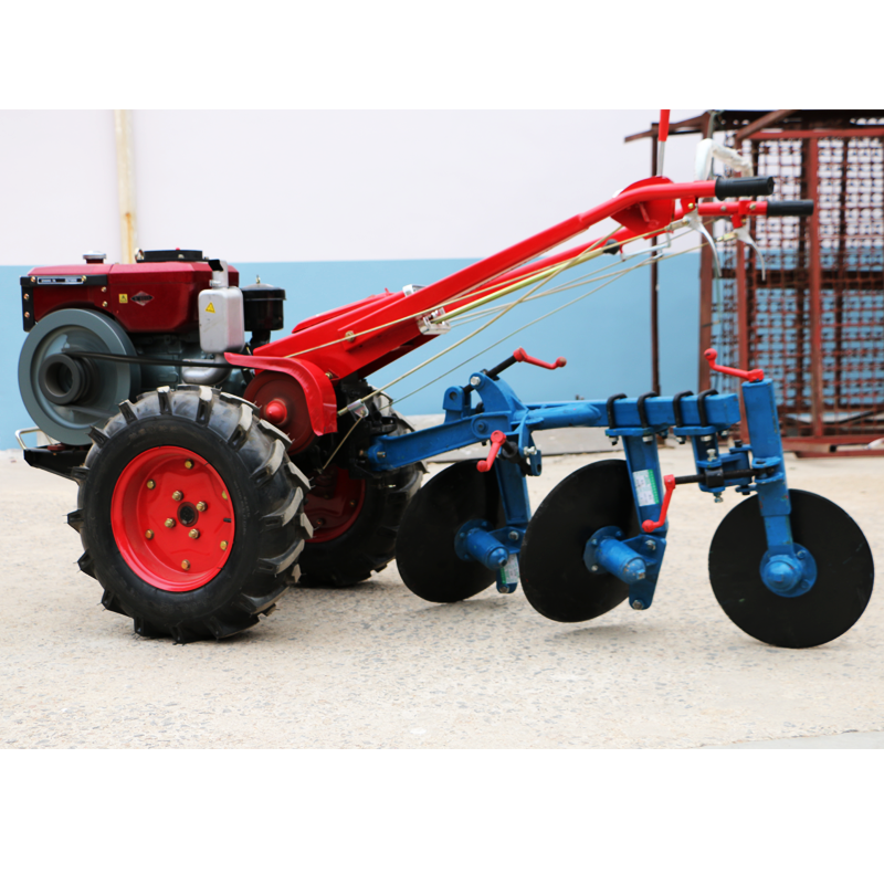 15hp 18hp walking tractor with all kinds of plough