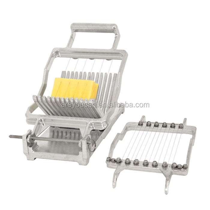 Aluminum Cheese cutter/ manual cheese slicer with Stainless steel cutting wires
