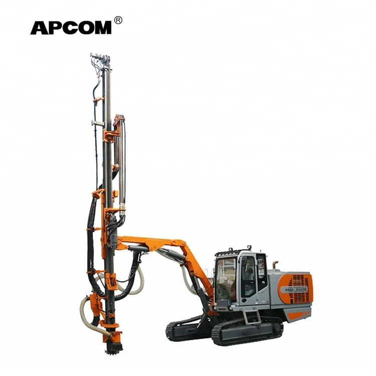 APCOM ZGYX-T424 automatic hydraulic rock portable mining drilling machine rig ground hole earth pile drilling rig machine