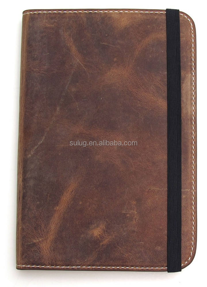 Genuine leather custom book cover/Leather Book Covers for Bibles