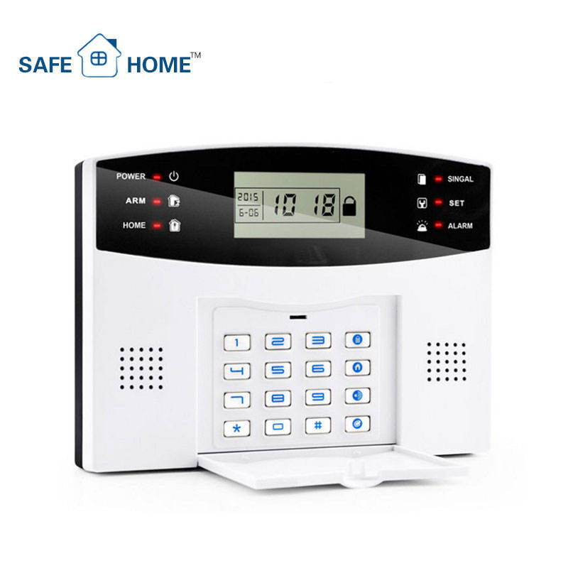 Most Advanced Wireless Intelligent Home Security GSM Alarm System