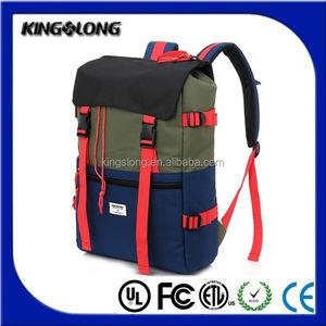 Nylon sport sacchetto di svago campo di escursione portatile tattico zaino