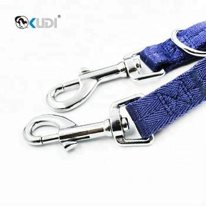 Double Dog Rope Leash Makes Hands Free