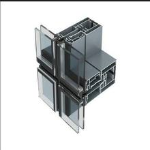Aluminum glass curtain wall accessories/High quality united curtain wall for hotel