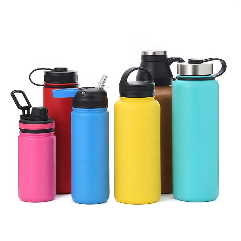 Sport Bottle [ Water Bottle ] Water Bottle Price High Quality 14oz 18oz 22oz 32oz 40oz 64oz Double Wall Stainless Steel Insulated Vacuum Water Bottle