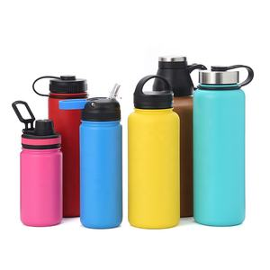 Kualitas Tinggi 14 Oz, 16 Oz, 22 Oz, 32 Oz, ML, 64 Oz Double Wall Stainless Steel Insulated Botol Air Vakum
