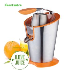 Citrus press with Powerful 160W/85W motor and Stainless steel housing/S/S filter