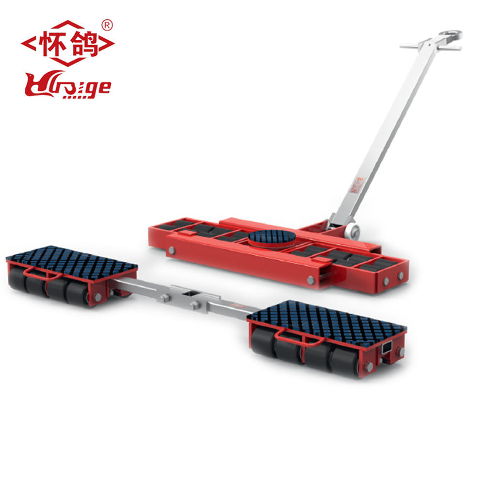 Heavy duty X + Y serie combinare Dolly Moving contenitore 16 ton roller skate