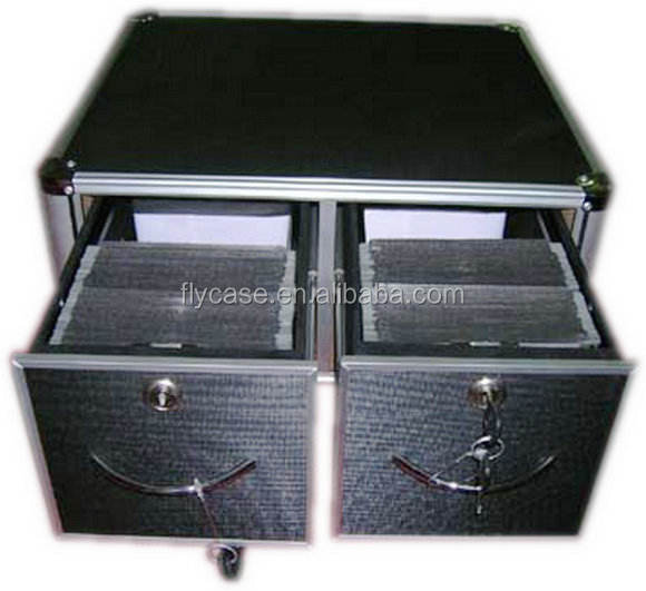 2013 flight case with beautiful surface ,stage\ DJ \Rack \LCD \player \instrument aluminium box with locks