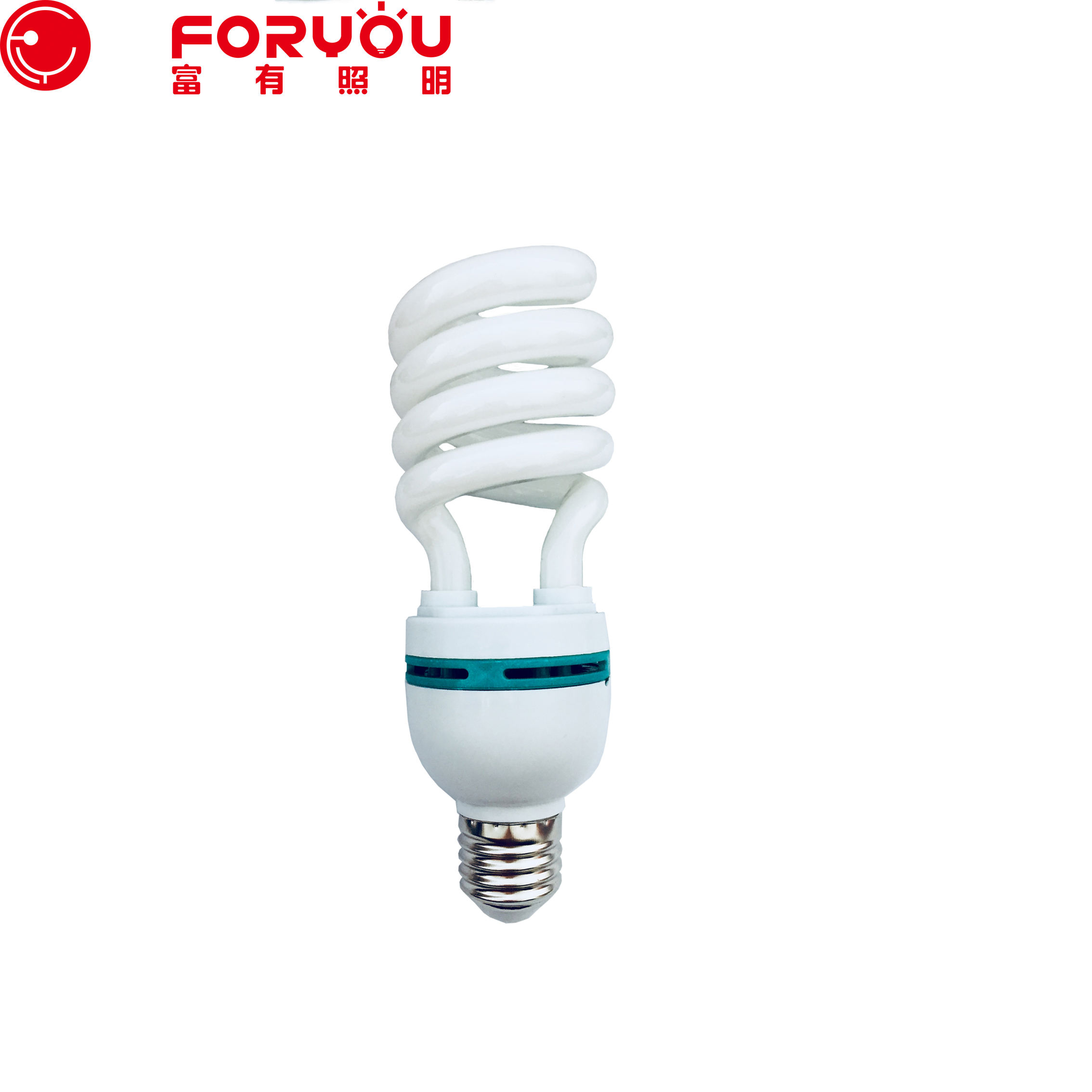 hot selling manufacturer china energy saver bulbs lights half spiral lamp 30w cfl T4