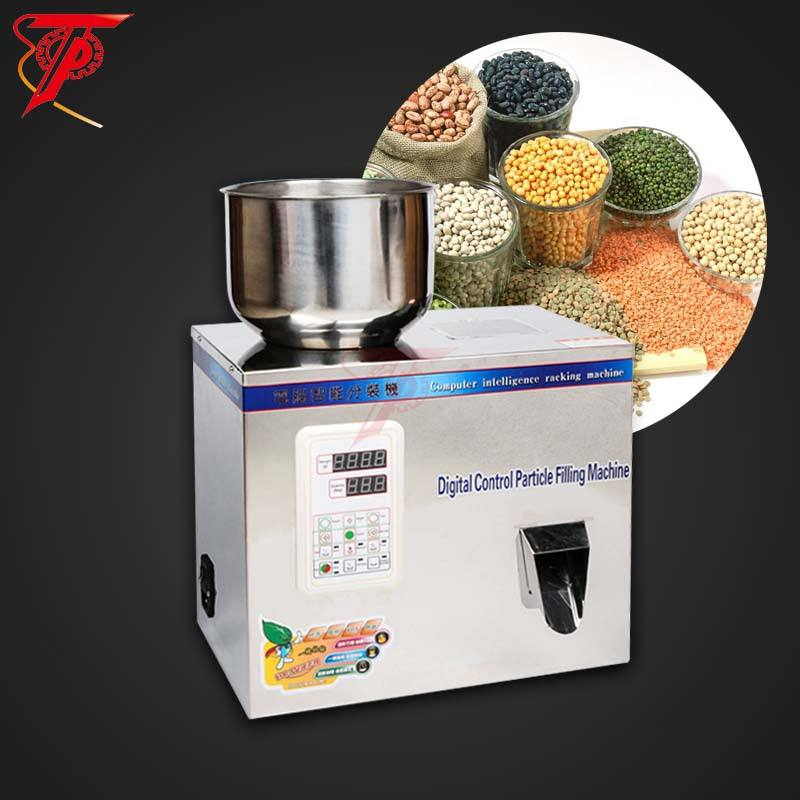 Automatic tea granule grain coffee spice bottle small powder filling machine