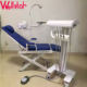 Hot sales!!!Folding Dental chair dental chair with suction unit/portable dental unit chair