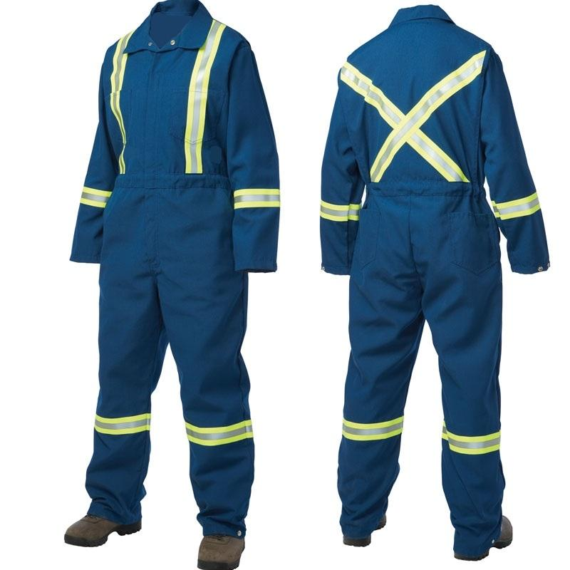Hohe Sichtbarkeit Fluoreszierende Overall NFPA2112 Overall Arbeitskleidung Nomex Overall