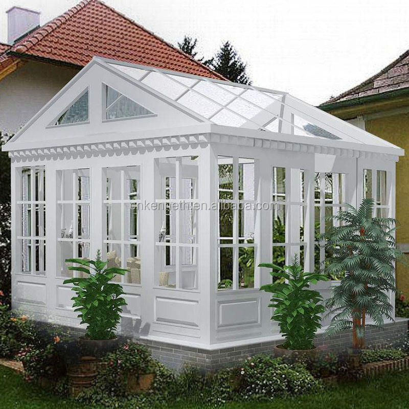 glass house/green house sunroom aluminum sun room