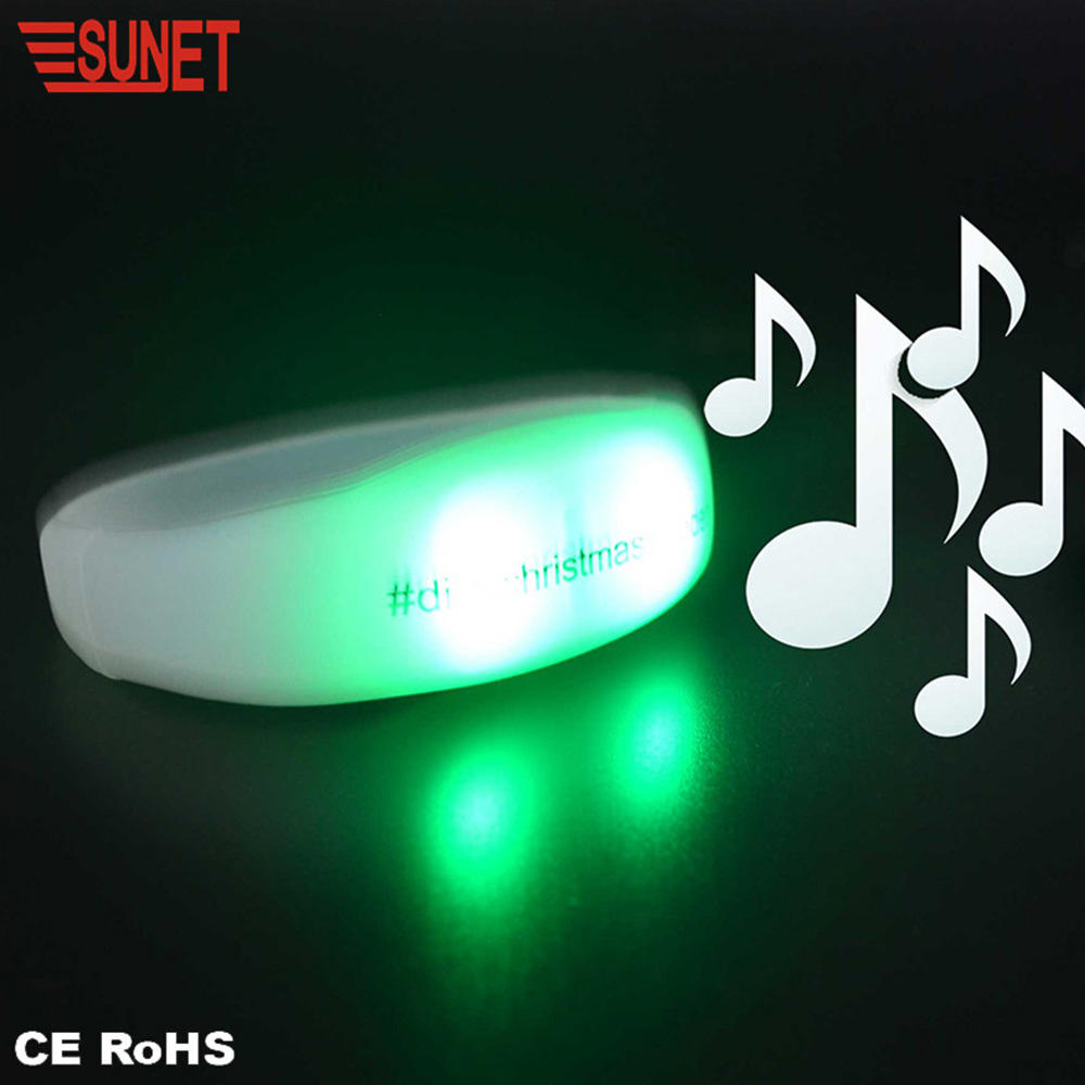New Product 2020 SUNJET New Business Ideas Charming Led Flashing Bracelet