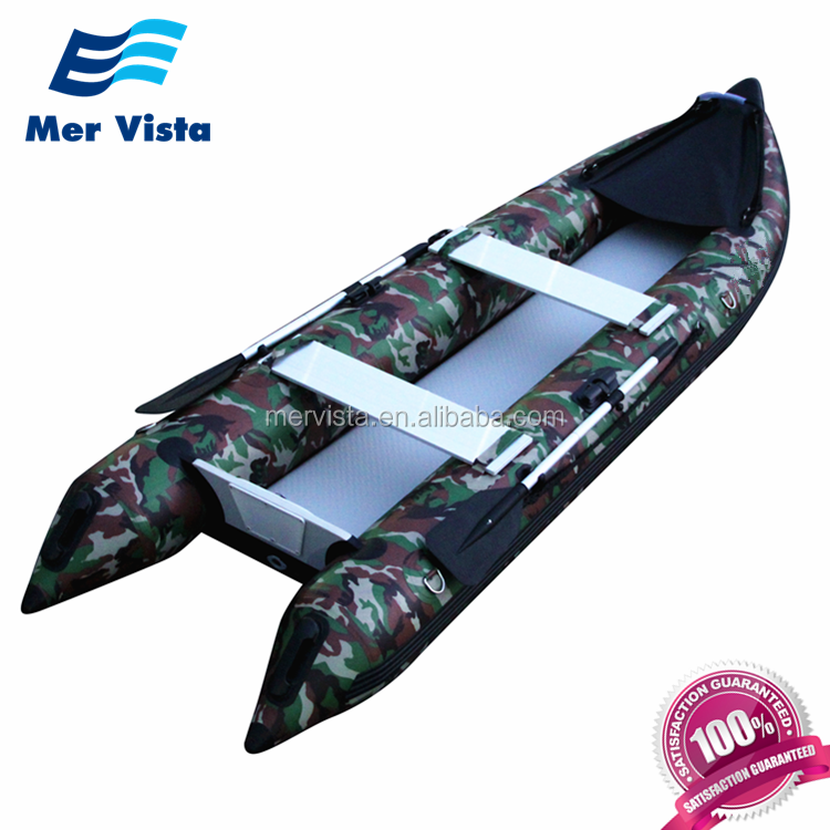 Pedal de pesca inflables Paddle, barato, de China, Océano, venta al por mayor barco Kayak plegable