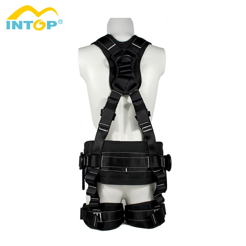 New Arrival factory price polyester full body safety harness belt for construction