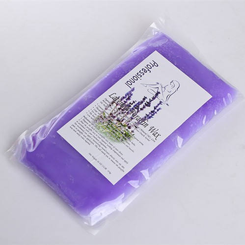lavender refill salon beauty spa skin care paraffin wax for hand and feet 450g
