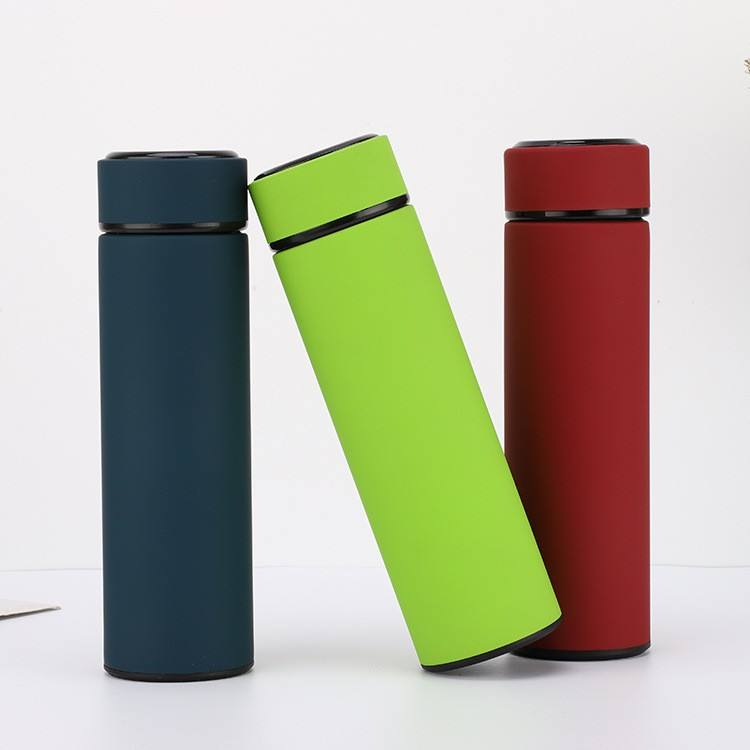 <span class=keywords><strong>Noir</strong></span> vert rouge en acier inoxydable thermos fiole à vide <span class=keywords><strong>bouteille</strong></span>