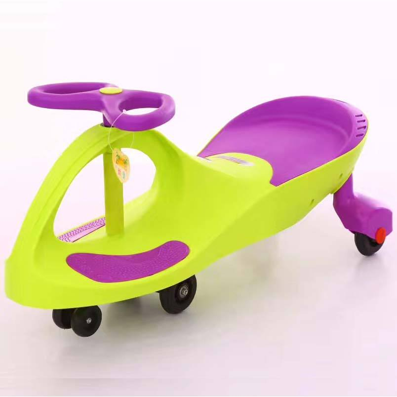 Factory wholesale doll car/Cheap wiggle car toys for kids/children twist car ride on toys baby swing car