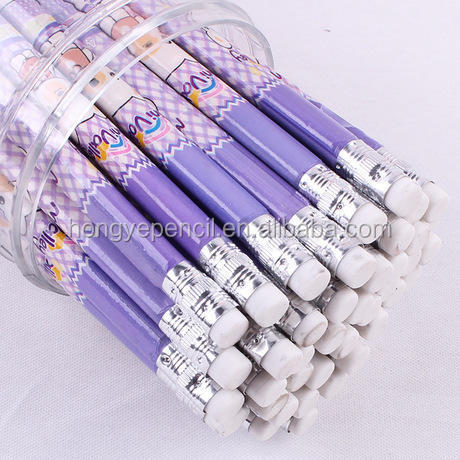Shrink pencil for kids, Korean designs more creative fresh surface design for promotion and gift