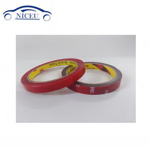 1mm thickness double sided thin foam tape 3M vhb acrylic foam tape for automotive
