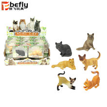 Wholesale mixed lots small toy plastic cats